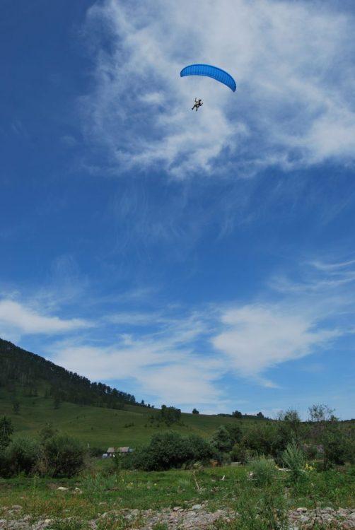 Полёт на спидглайдере в Камлаке