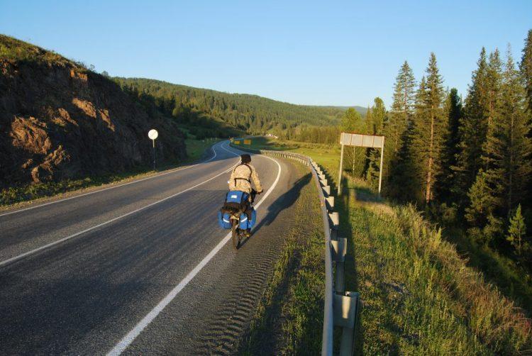 Продолжаем спуск после перевала
