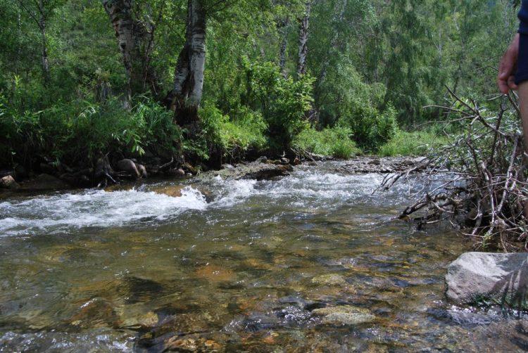 Речка Малый Ильгумень