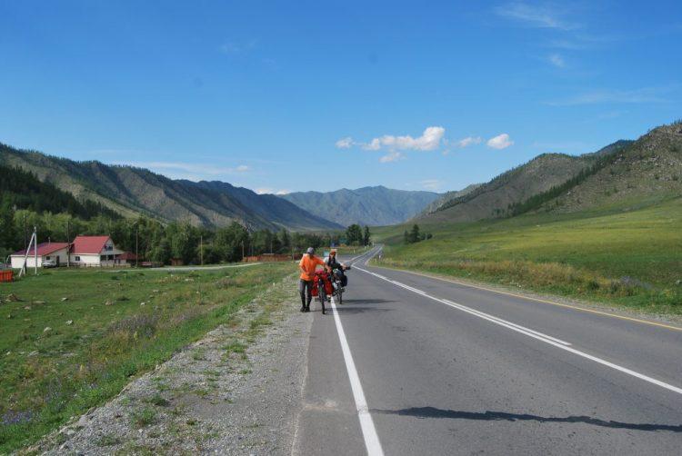 Чике-Таман (Горный Алтай), начало подъема